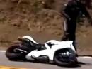 """""""The Snake"""" fordert ihre Opfer! Berüchtigte Kurve auf dem Mulholland Highway in der Nähe von Malibu / Kalifornien"""