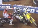 Unfair abgeräumt: Mike Alessi vs Broc Tickle beim Supercross Atlanta