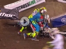 Üble Prügelei beim Supercross Anaheim - Geht gar nicht! Extrem unsportlich