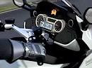 Unfallverhütung BMW Motorrad Kollisions Warn System
