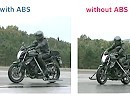Unfallverhütung: Bosch Motorrad ABS Technologie - Demo