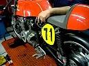 Ungefilterter Vierzylindersound - Honda 400 SS
