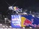 Unglaublich!!! Travis Pastrana Freestyle Motocross Legende springt 82 Meter mit Rally Auto
