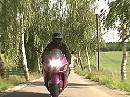 Unkonzentriert, Crash: Verunglückte Motorradfahrerin berichtet - Runter vom Gas
