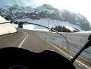 Motorradtour von Urnäsch auf die Schwägalp, Schweiz mit Honda CBF1000F