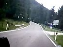 V-Strom in den Dolomiten mit Oregon Action Cam ATC 2000