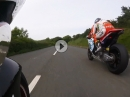 V4 Sound: Norton SG6, Davo Johnson onboard TT2017 - SeniorTT Race