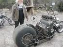 V8 Motorrad - Sidewinder 427 minimalistisch - Vollgas? Damit?