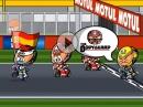 Valencia MotoGP 2015 Minibikers - Rossi vs. Lorenzo