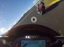 Valencia Rennen Klasse 1000ccm Honda / BMW - letzte 2 Runden