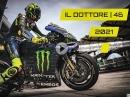 Valentino Rossi 2021 Kalender - IL DOTTORE 46 DIN A3 ideales Geschenk