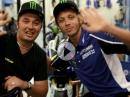 Valentino Rossi beantwortet Fragen von seinen Fans - sympatisch