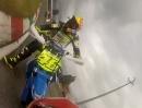Valentino Rossi gast an beim Sic Supermoto Day
