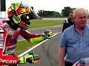 Valentino Rossi in Silverstone: Du wolle auffe Ducati setze?