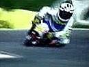 Valentino Rossi Minimoto Racing. Der war schon als Kidi kompromißlos