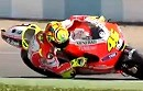 Valentino Rossi teste die neue Ducati Desmosedici GP12 in Jerez