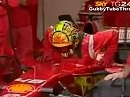 Valentino Rossi testet Ferrari Formel 1 in Mugello
