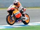 Valentino Rossi vs. Casey Stoner in Turn1 (Vergleich) Jerez MotoGP Test 25.03.2012