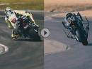 Valentino Rossi vs. Motobot - wer ist schneller? Mensch vs. Maschine