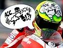 Galgenhumor: Valentino Rossis neues Helmdesign und wie es dazu kam ;-)
