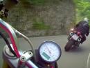 Valvestino Speichersee (Gardasee) - 130719 Mopedtour mit Gyrocam