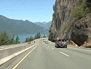 Vancover to Sky Highway to Porteau Cove Provincial Marine Park, British Columbia, Canada.
