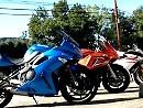 Vergleichstes: 2010er Kawasaki Ninja 650 vs. 2009 Suzuki GSX650F vs. 2010 Yamaha FZ6R