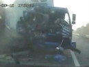 Verkehrsunfälle Russland. Niemals, niemals ohne Alkohol fahren!