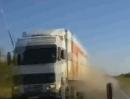 Verkehrsunfall LKW-Reifen - Manchmal läufts einfach scheisse ...