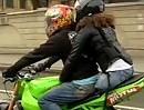 RESPEKT! Veronika Skugina: Motorradverückte Sozia, beinamputierte Frau aus Russland - Hut ab!