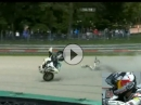 "Verwirrt: Rea Rennunfall - ""Fuck - wo ist mein Motorrad"" Crazy"