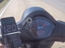 Vespa GTS 300 hpe Beschleunigung / Vollgastest