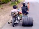 Vespa Motorroller Umbau - TüV in Vorbereitung