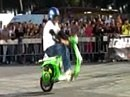 Vespa Wheelie Performance: The best of Nicola L'impennatore vespa freestyle