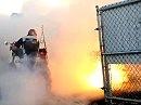 Victory Motorcyle Flammen Burnout - burn, burn, burn - gib Gummi