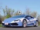 Videowagen mit 610 PS: Lamborghini Huracan Polizia nix mehr mit abhauen ;-)