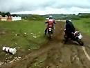 Villars 2010 - Enduro Training mit dem Motorrad Action Team
