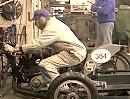 "Vincent Epimetheus 1950 V-Twin - Gaskranke ""Rentner"" Racingvirus"