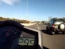 """Vollgas KTM Superduke 1290R - 299km/h geht gut das """"Biest"""""""