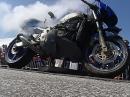 Vollgas Tod einer alten Kawasaki - sie hatte keine Chance ...