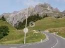 Vom Arlbergpass über Flexenpass ins Lechtal.