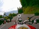 Vom Gailtal über die Plöckenpassstraße (B110) nach Oberdrauburg  mit Ducati Monster