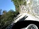 Vom Gardasee Richtung Idro kurz vor Capovalle / Italien