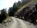 Passo di Tanarello Richtung Passo di Collardente, Colla di Sanson und Col Bertrand - Ligurischen Grenzkammstrasse (LGKS)