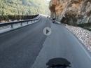 Vom Passo Somo über Nomi zum Passo Lavachel -  Kurven über Kurven