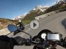 Von der Oberalp Passhöhe nach Truns Highlights mit Aprilia Tuono V4 1100 RR