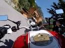 Von Gargnano (Gardasee) nach Navazzo mit Ducati Monster