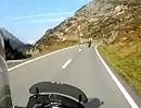 Von Innertkirchen, Kanton Bern, bis auf den Sustenpass - Motorradtour