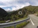 Von Italien über das Timmelsjoch nach Österreich