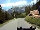 Von Kaisers nach Steeg, Nähe Hochtannbergpass, Reutte, Tirol, Österreich
